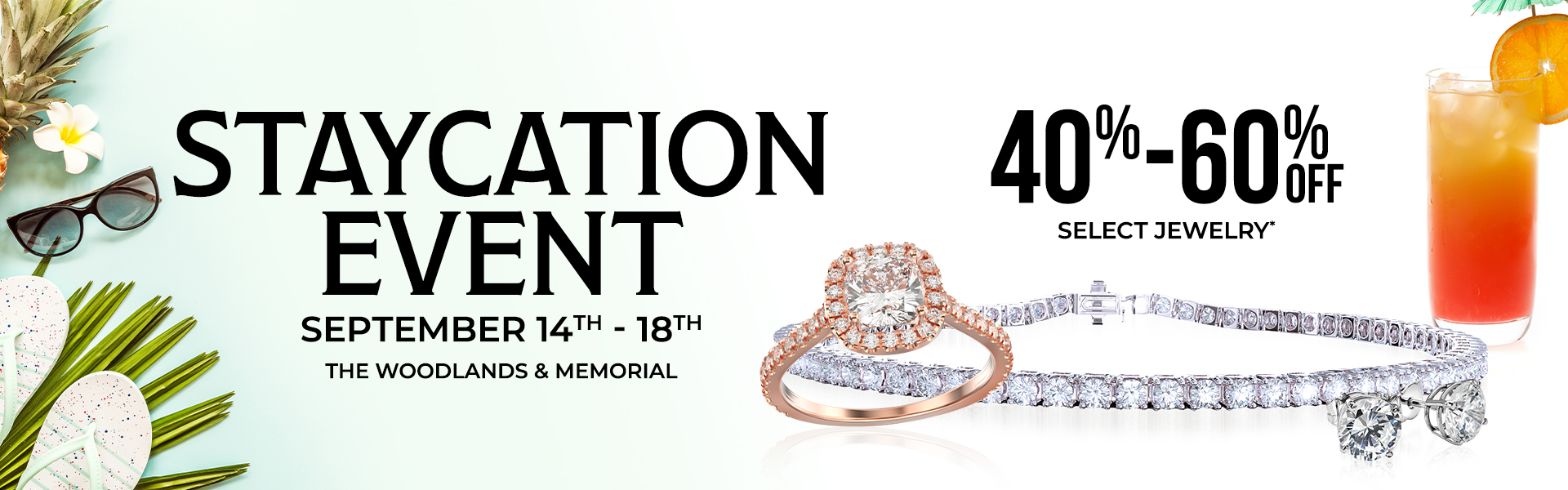 Staycation Sale Web Banner 20